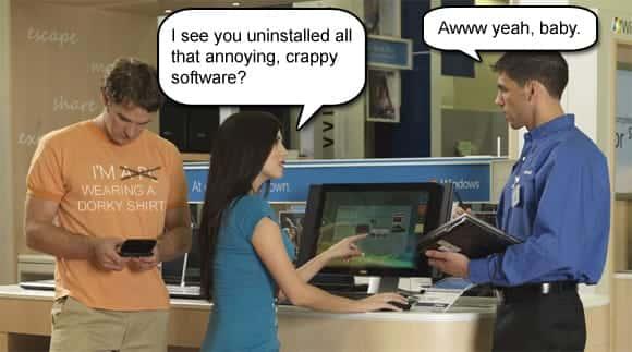 niechciane programy Windows